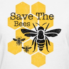 Honeycomb Save The Bees Women's T-Shirts