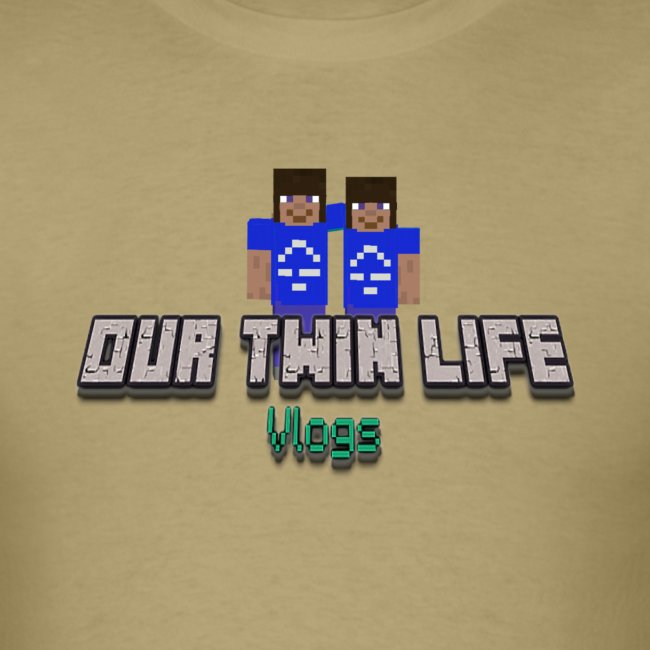 "Men's Our Twin Life ""Minecraft"""
