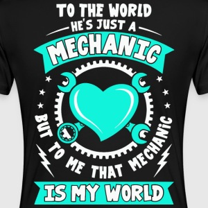 Mechanic, I love my Mechanic tees, Love shirt - Women's Premium T-Shirt