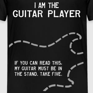 I Am the Guitar Player Kids' Shirts - Kids' Premium T-Shirt