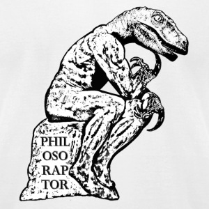 philosoraptor T-Shirts - Men's T-Shirt by American Apparel