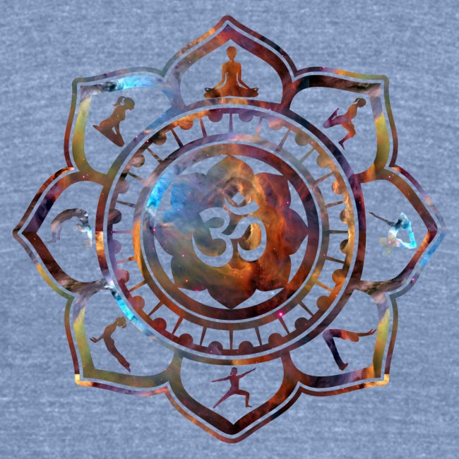 Ethos Wear Design And Apparel Om Lotus Flower Yoga Poses American