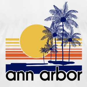 Ann Arbor.png T-Shirts - Men's T-Shirt by American Apparel