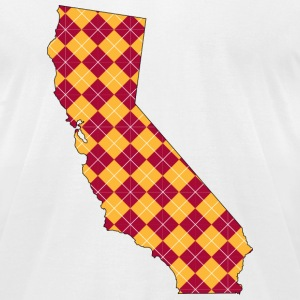 California USC Plaid.png T-Shirts - Men's T-Shirt by American Apparel