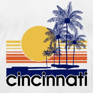 Cincinnati.png T-Shirts - Men's T-Shirt by American Apparel