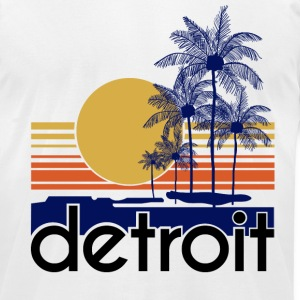 Detroit.png T-Shirts - Men's T-Shirt by American Apparel