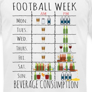 Drinking Week.png T-Shirts - Men's T-Shirt by American Apparel