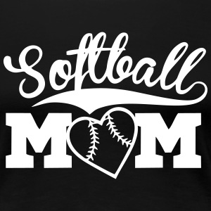 Softball Mom - Women's Premium T-Shirt
