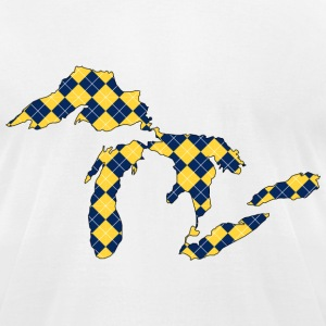 Great Lakes Plaid.png T-Shirts - Men's T-Shirt by American Apparel