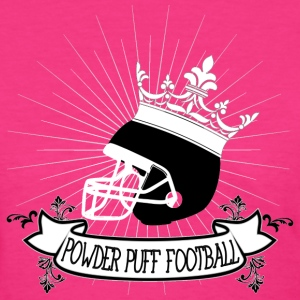 Powder puff football - Women's T-Shirt