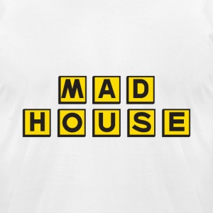 Mad House.png T-Shirts - Men's T-Shirt by American Apparel