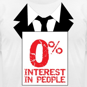 O Percent.png T-Shirts - Men's T-Shirt by American Apparel