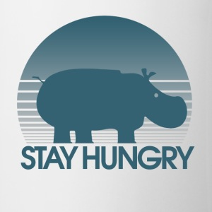 Stay Hungry Hippo inspiration - Coffee/Tea Mug