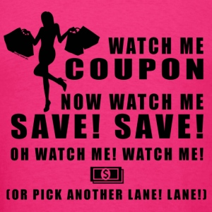 Watch Me Coupon - Men's T-Shirt