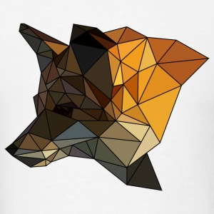 Polygon Fox Tee - Men's T-Shirt