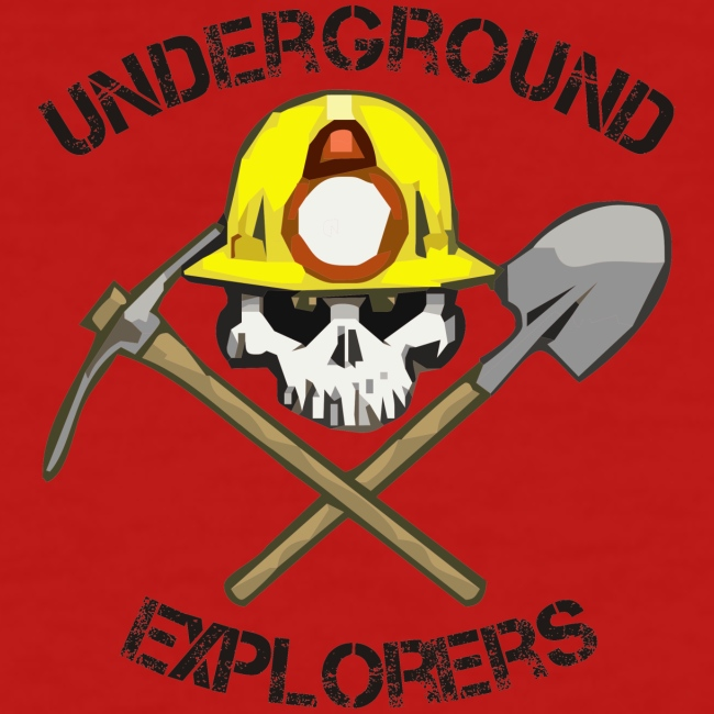 Underground Explorers Red Women's Logo Tee
