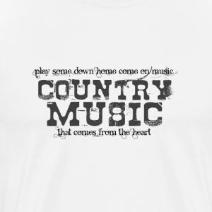Down Home Come On Music - Men's Premium T-Shirt