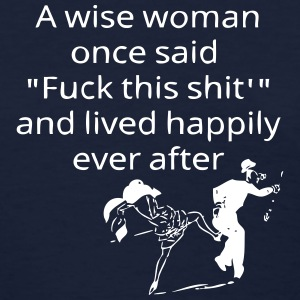 A Wise Woman ... Women's T-Shirts - Women's T-Shirt