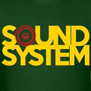 Sound System T-Shirts - Men's T-Shirt