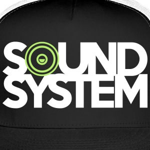 Sound System Caps - Trucker Cap