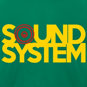 Sound System T-Shirts - Men's T-Shirt by American Apparel