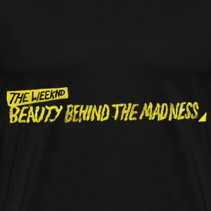 The Weeknd Beauty Behind The Madness T-Shirts - Men's Premium T-Shirt