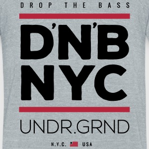drum n bass T-Shirts - Unisex Tri-Blend T-Shirt by American Apparel
