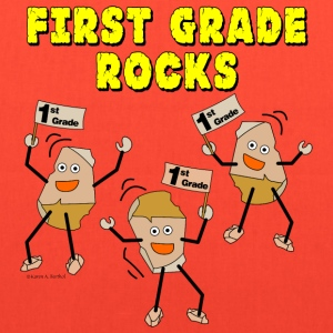First Grade Rocks Bags & backpacks - Tote Bag
