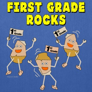 First Grade Rocks Light Bags & backpacks - Tote Bag