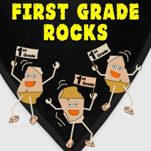First Grade Rocks Light Caps - Bandana