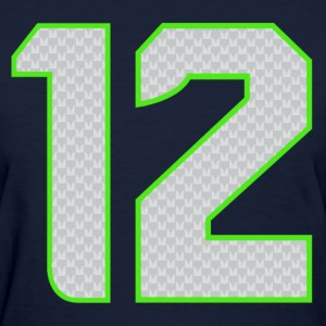 12th Man T-shirt Womens - Women's T-Shirt