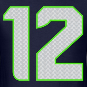 12th Man T-shirt - Men's T-Shirt