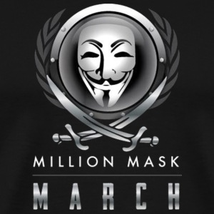 Million Mask March - Men's Premium T-Shirt