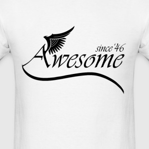 Awesome 1946 T-Shirts - Men's T-Shirt