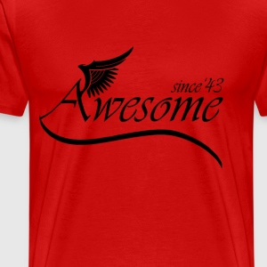 Awesome 1943 T-Shirts - Men's Premium T-Shirt