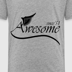 Awesome 1951 Baby & Toddler Shirts - Toddler Premium T-Shirt