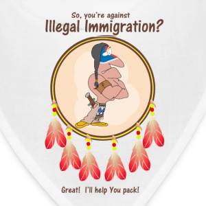 Oppose Illegal Immigration? Let me help you pack! Caps - Bandana