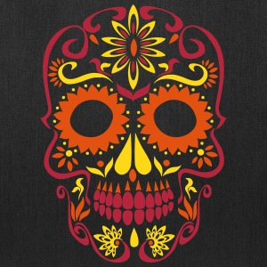 sugar skull day of the dead Bags & backpacks - Tote Bag