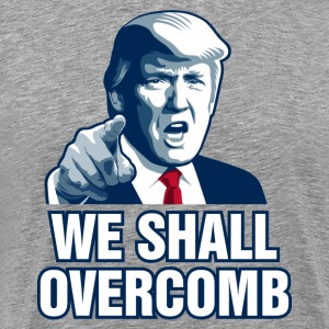 We Shall Overcomb T-Shirts - Men's Premium T-Shirt