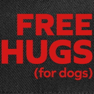Free Hugs Dogs  Caps - Snap-back Baseball Cap