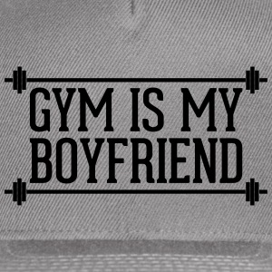 Gym Is My Boyfriend  Caps - Snap-back Baseball Cap
