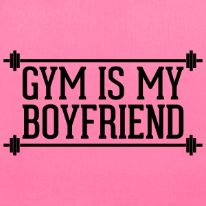 Gym Is My Boyfriend  Bags & backpacks - Tote Bag
