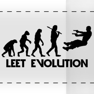Leet Evolution Mug - Panoramic Mug