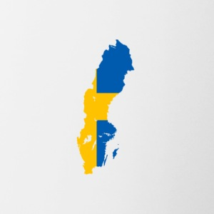 Flag of Sweden - Contrast Coffee Mug