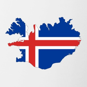 Flag of Iceland - Contrast Coffee Mug