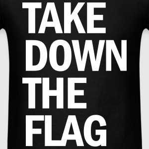 charleston south carolina take down the flag - Men's T-Shirt