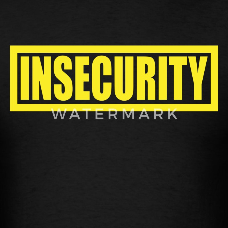 Insecurity Security Guard  T-Shirts - Men's T-Shirt