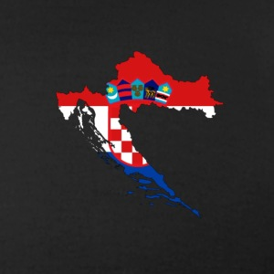 Flag of Croatia - Men's T-Shirt by American Apparel