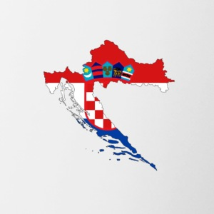 Flag of Croatia - Contrast Coffee Mug