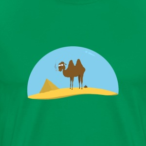 Camel by www.orriart.com - Men's Premium T-Shirt